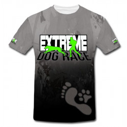 tričko DogRace zelená