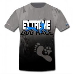 tričko DogRace modrá